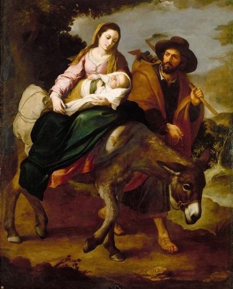 Bartolomé Esteban Murillo - The Flight Into Egypt, 1647-50