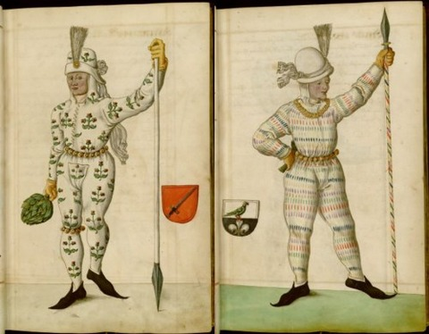 Radical Fashion from the Schembart Carnival (1590)2