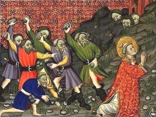 石を投げられ殉教した聖人、聖ステファノの絵画14選。石のある場所に個性が表る