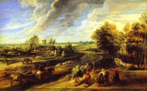 Rubens  Return from the Fields