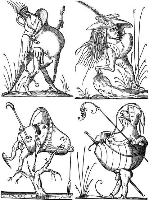 François Desprez - The Droll Dreams of Pantagruel (1565) 3