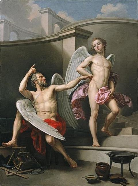 Icarus_by_Pecheux 18century