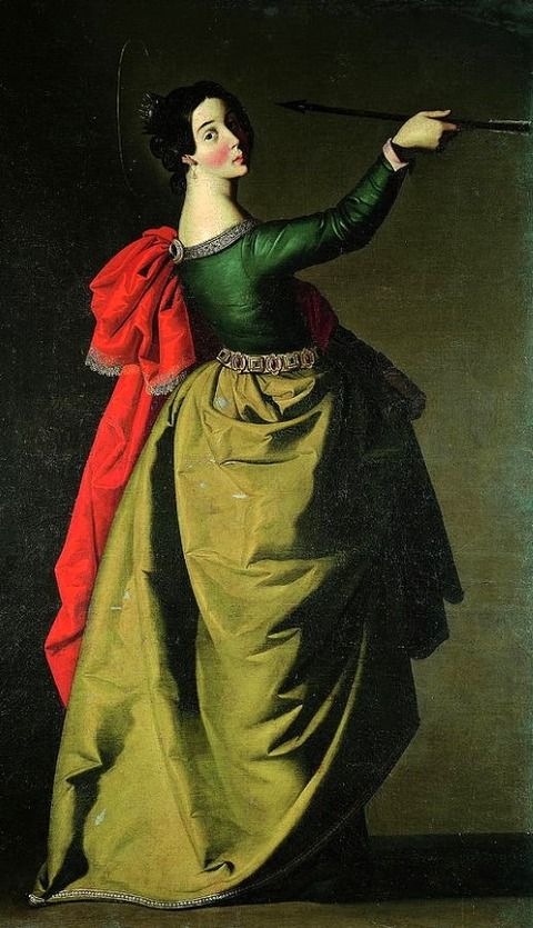Saint Ursula by Francisco de Zurbarn