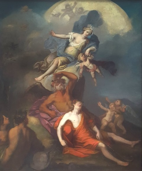 1700; Attributed To Nicolas Bertin