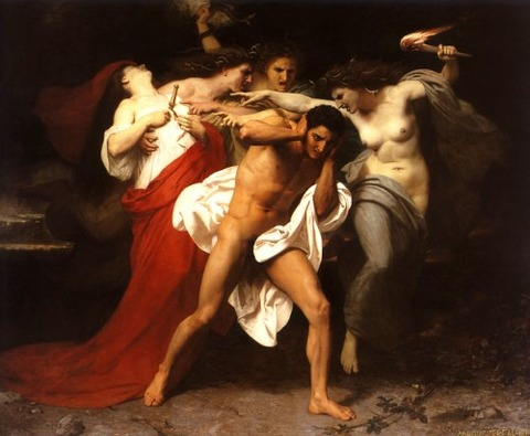 william adolphe bouguereau orestes