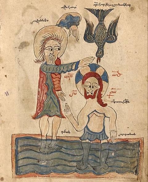 The Baptism of Christ  1386
