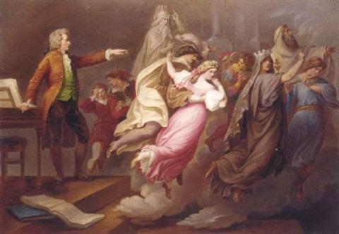 Don Giovanni and magic flute KARL JOSEPH GEIGER