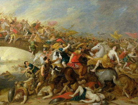 The Battle Between The Amazons And The Greeks  Pauwel Casteels