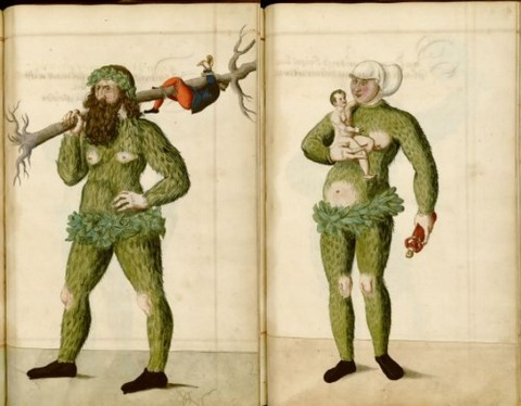 Radical Fashion from the Schembart Carnival (1590)15