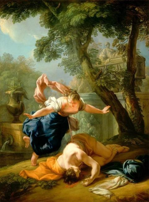 Pietro Bianchi, Pyramus and Thisbe, c. 1724-5