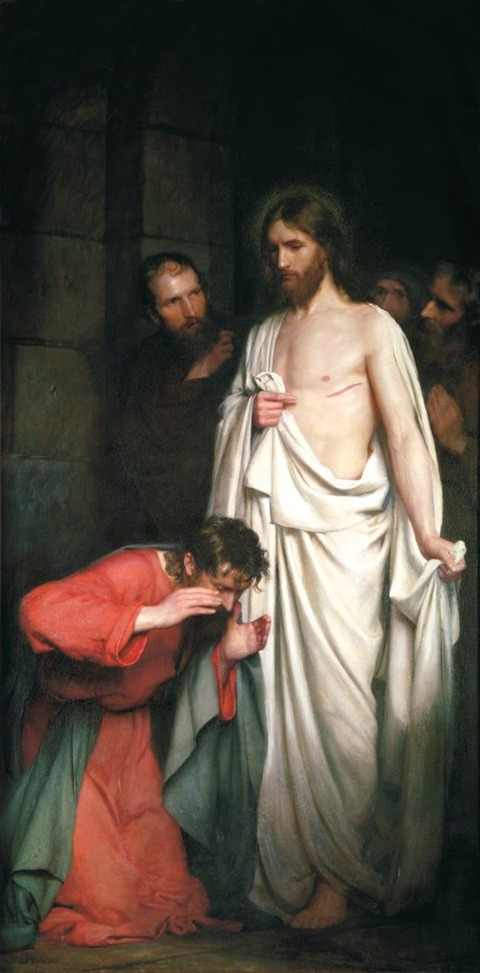 Carl Bloch, The Doubting Thomas, 1881