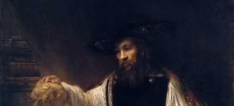 Rembrandt - Aristotle with a Bust of Homer  1653 -