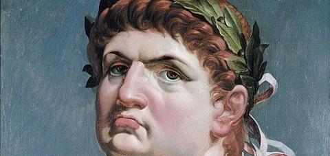 Emperor Nero  by Abraham Janssens 1618 -