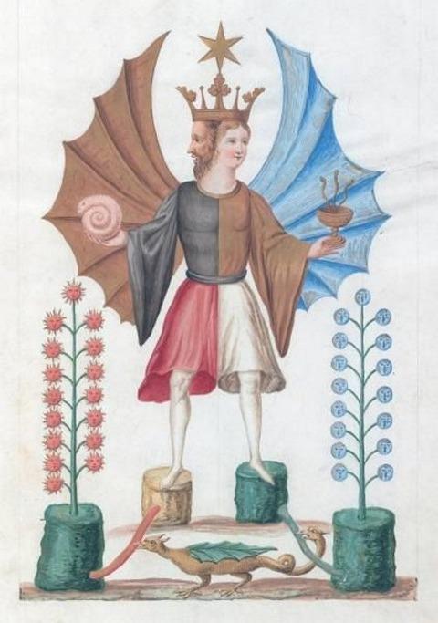 Buch der heiligen Dreifaltigkeit ale, Beinecke, Mellon 1700 -