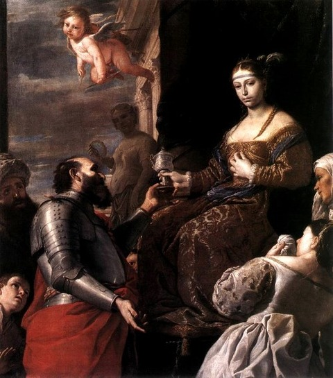 The Death of Sophonisba, by Mattia Preti 1670