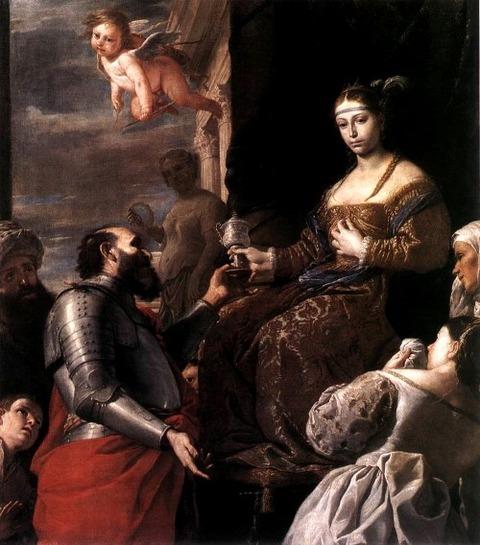 The Death of Sophonisba, by Mattia Preti 1670