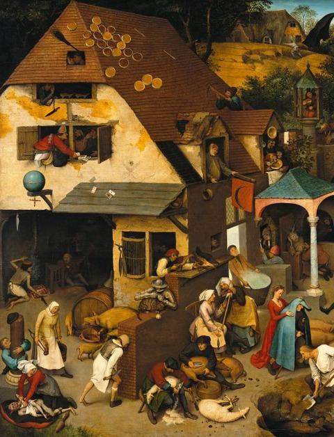 Pieter_Brueghel_the_Elder_-_The_Dutch_Proverbs_ -12