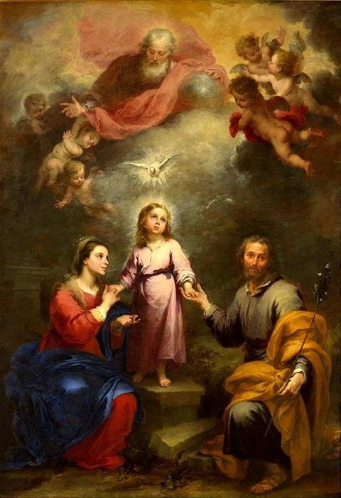 Bartolomé Esteban Perez Murillo  Holy Spirit in Christianity