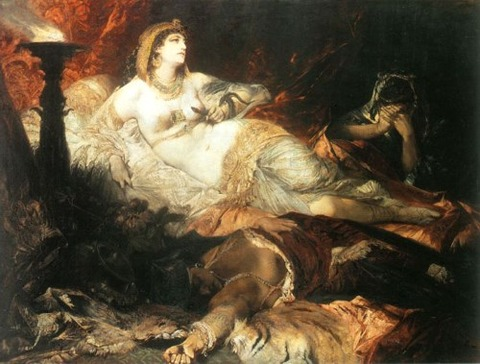 Hans Makart The Death of Cleopatra