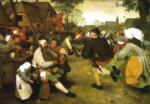 Bruegel, Peasant Kermis 1567-1568