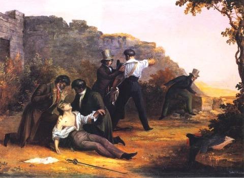 Charles Codman the duel