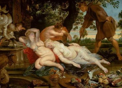 Cimone and Efigenia, 1615   rubens
