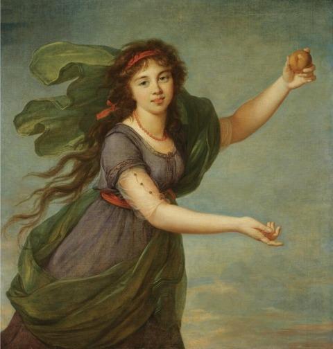 Louise Vigée Le Brun  JEANNE JULIE le brun1780-1809