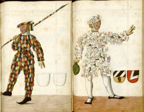 Radical Fashion from the Schembart Carnival (1590)10