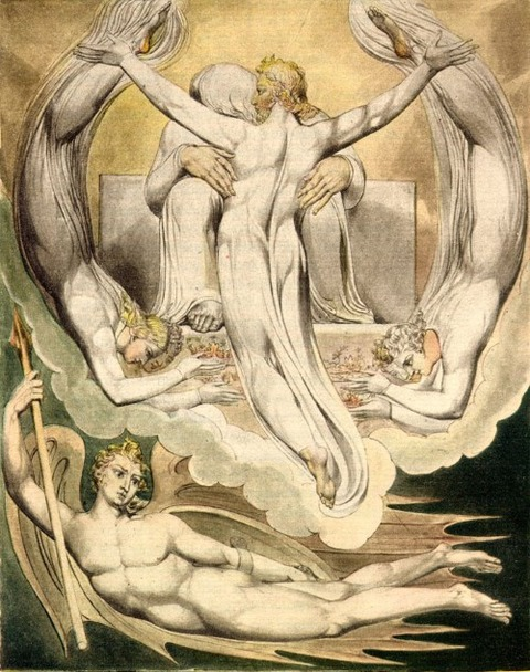 William Blake  Illustrations to Paradise Lost  1808