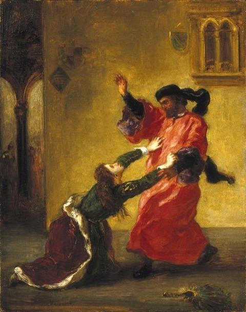 Eugene Delacroix 1850-54