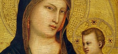 Giotto-Madonna-and-Child-Detail - コピー