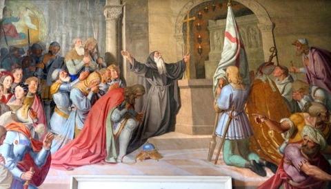 Johann Friedrich Overbeck  Consecration of Godfrey 1819-27