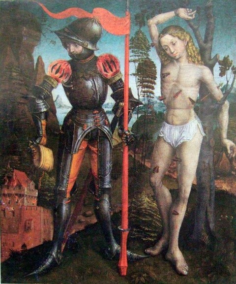 Anonymous French Master of Florian and Sebastian1470-80