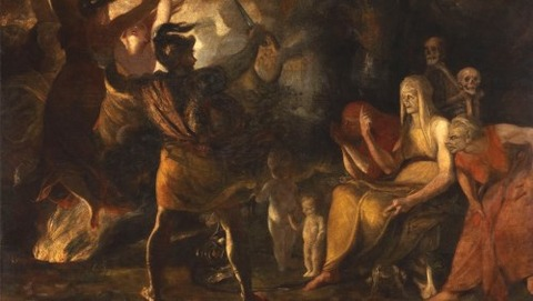 Joshua Reynolds  Macbeth and the Witches, 1789