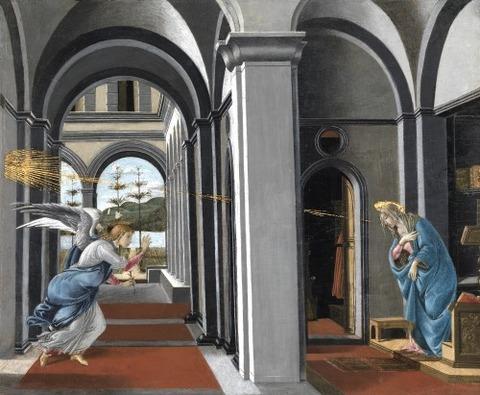 Annunciazione  Botticelli-1490
