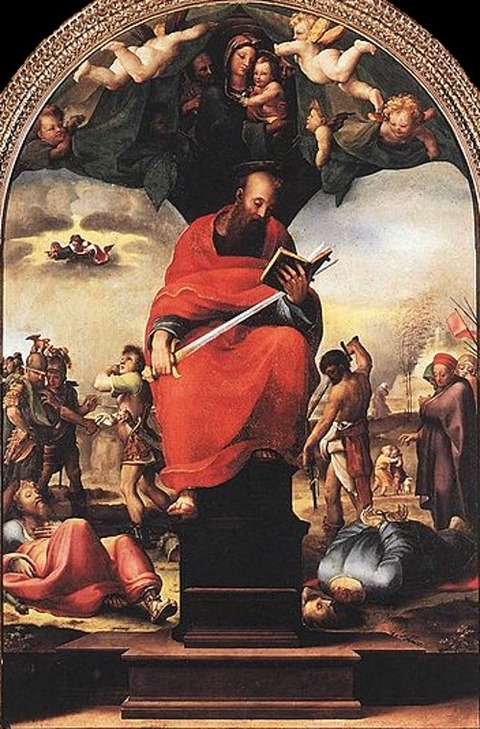 Domenico Beccafumi - St Paul 1515