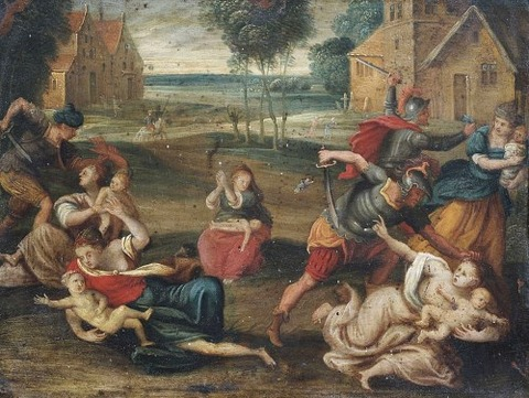 Circle of Frans II Francken  17th