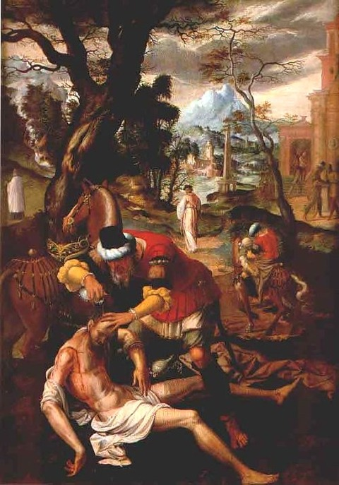 The Good Samaritan, attributed to Lanceloot Blondeel