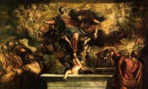 Tintoretto, The Assumption of the Virgin 1594
