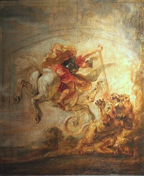 Peter Paul Rubens - Bellérophon 1635