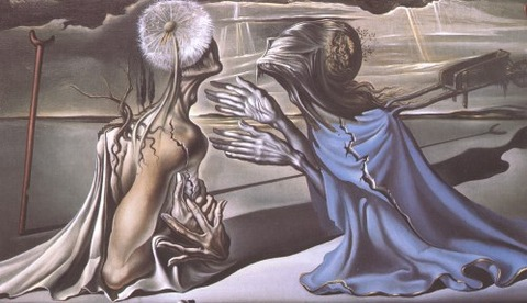 Tristan and Isolde, 1944 - Salvador Dali