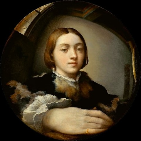 Parmigianino_Selfportrait 1523-24