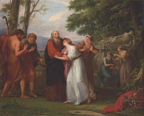 Angelika Kauffmann (1741–1807) Et in Arcadia ego