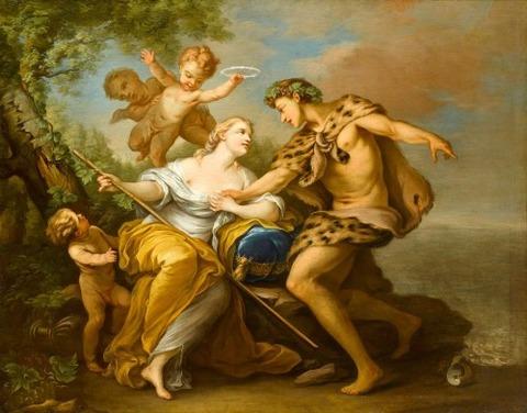 Loo, Carle van - Bacchus und Ariadne