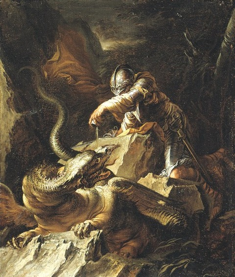 Jason and the Dragon, 1665