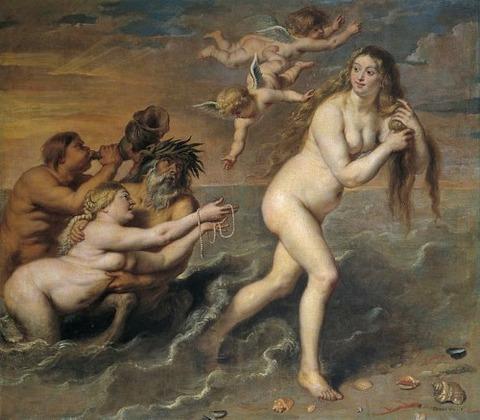 Cornelis de Vos - Nacimiento de Venus 17th