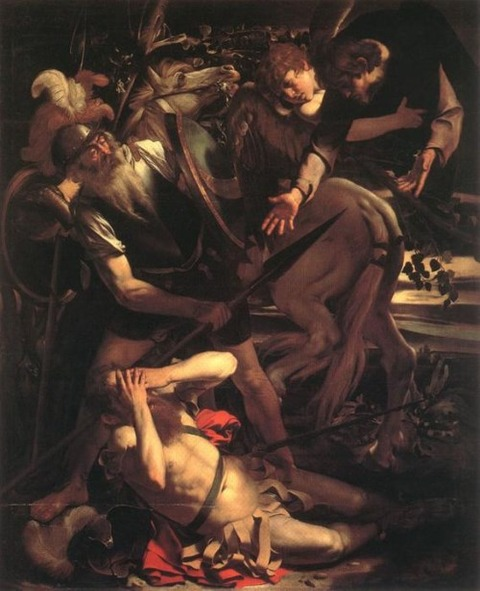 Caravaggio The Conversion of St. Paul, 1600-1