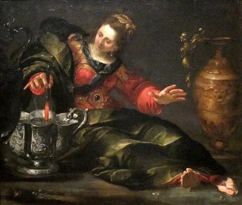 'Circe Mulling Wine' by Gioacchino Assereto   1630