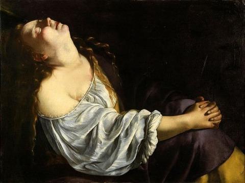 Artemisia Gentileschi - Mary Magdalene in Ecstasy