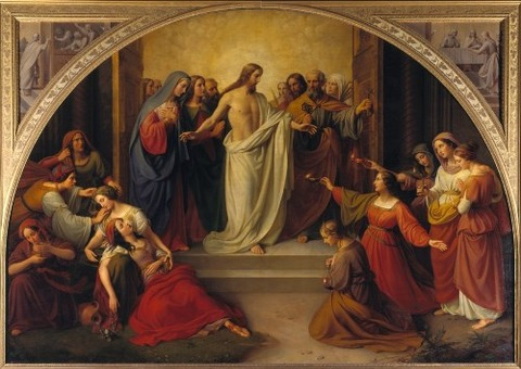 The Wise and Foolish Virgins  Wilhelm Schadow